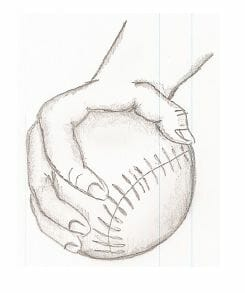 pitching grip for change up