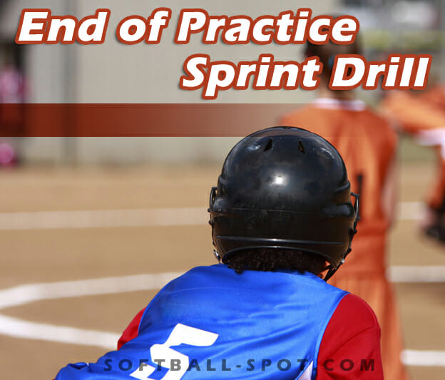 end of practice sprint drill