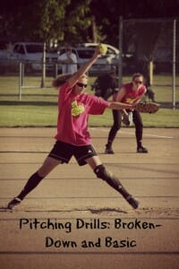 softball pitching basics drills