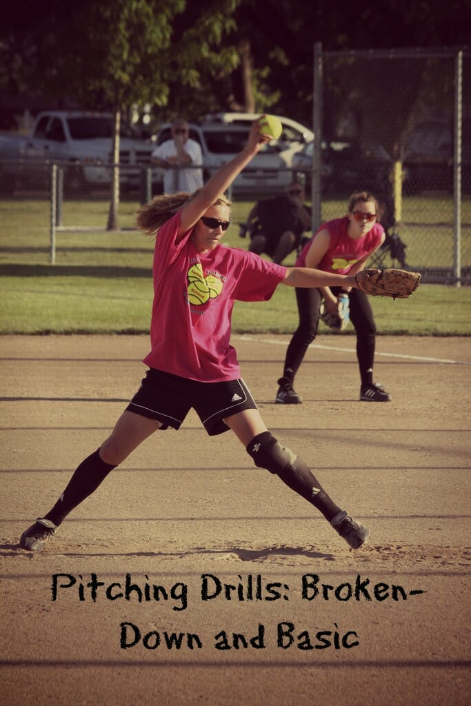 Softball Pitching Drills Broken Down And Basic