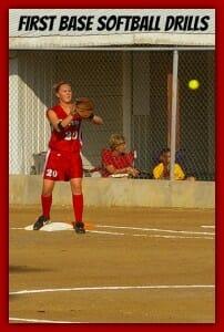 first base softball practice drills