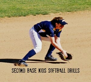 second base kids softball drills