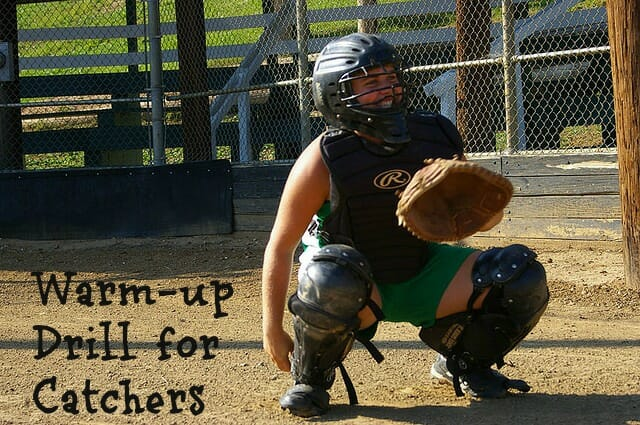 softball catcher drills