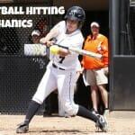 softball hitting