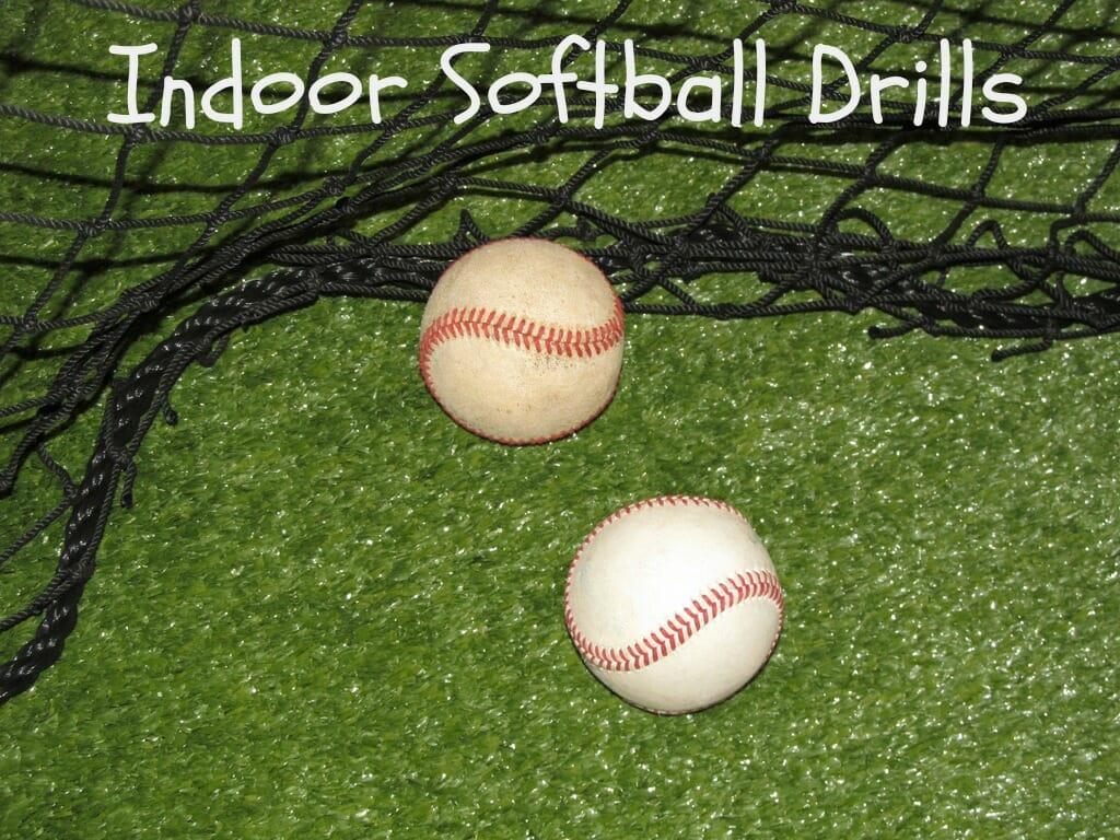 indoor softball practice