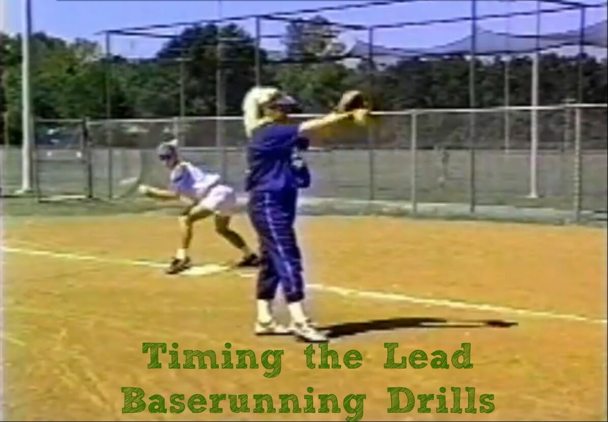 timing the lead softball practice drills