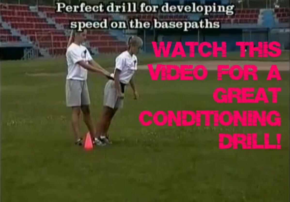 conditioning softball drill video
