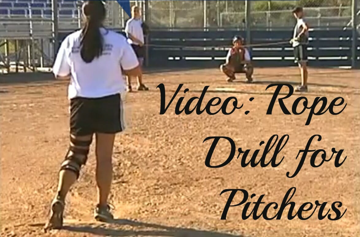 rope fastpitch softball drill