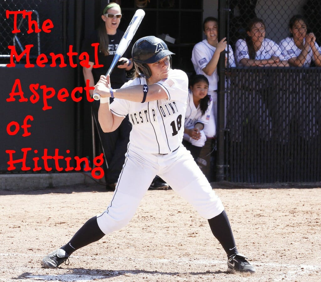 girls softball hitter