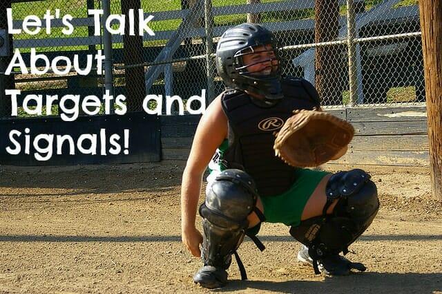 kids softball catcher