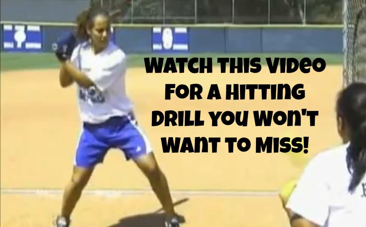 side toss drill video