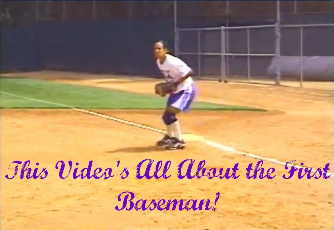 first baseman video