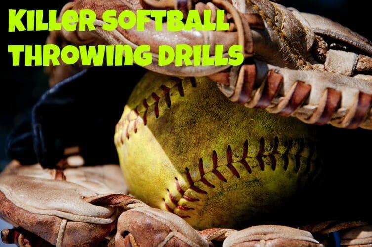 softball throwing drills