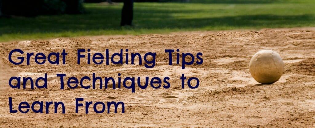 softball fielding techniques