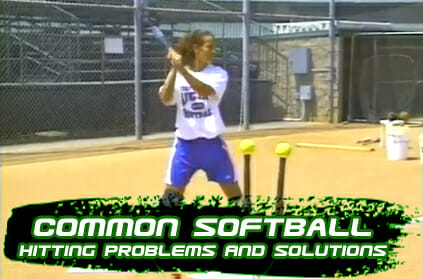 Softball Hitting Common Problems