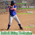 Softball Hitting Mechanics: The Basics – STANCE