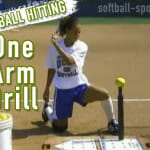 Video: Softball Hitting – The One Arm Drill