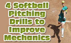 4 Softball Pitching Drills to Improve Mechanics