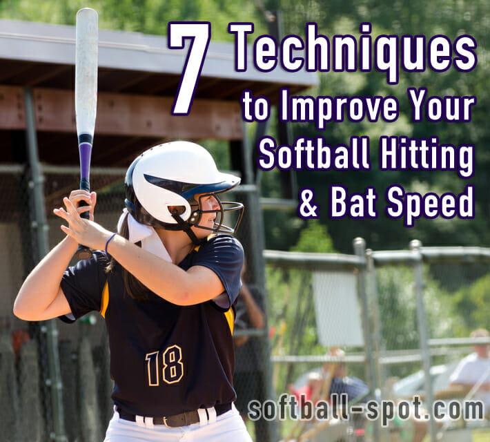 7 techniques softball hitting
