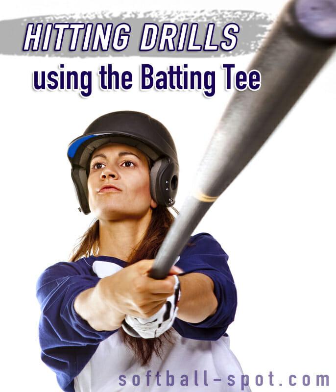 hitting drills batting tee