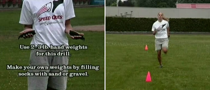 speed drills weighted