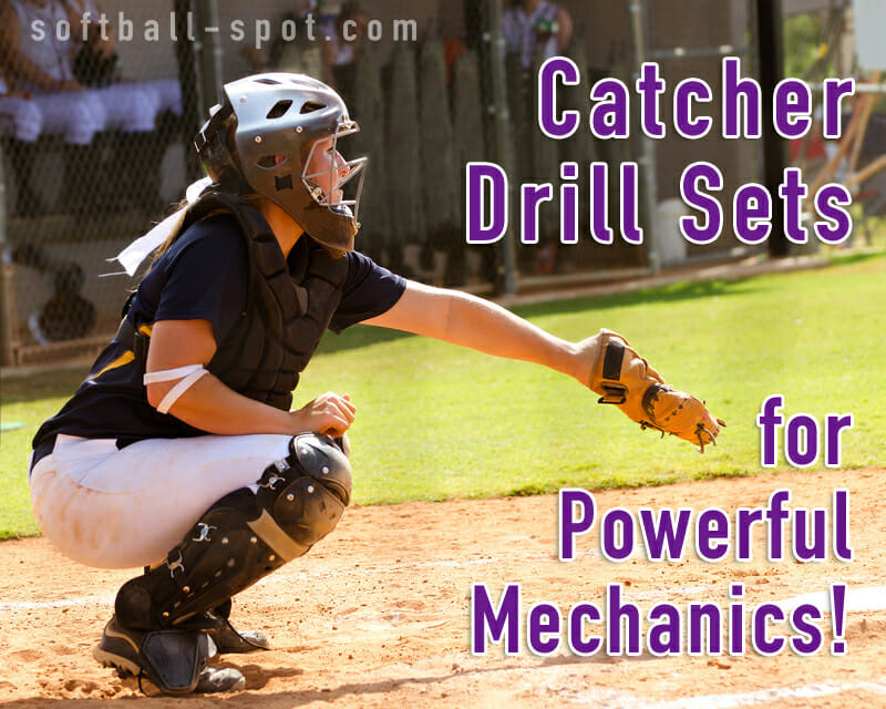catcher drill sets