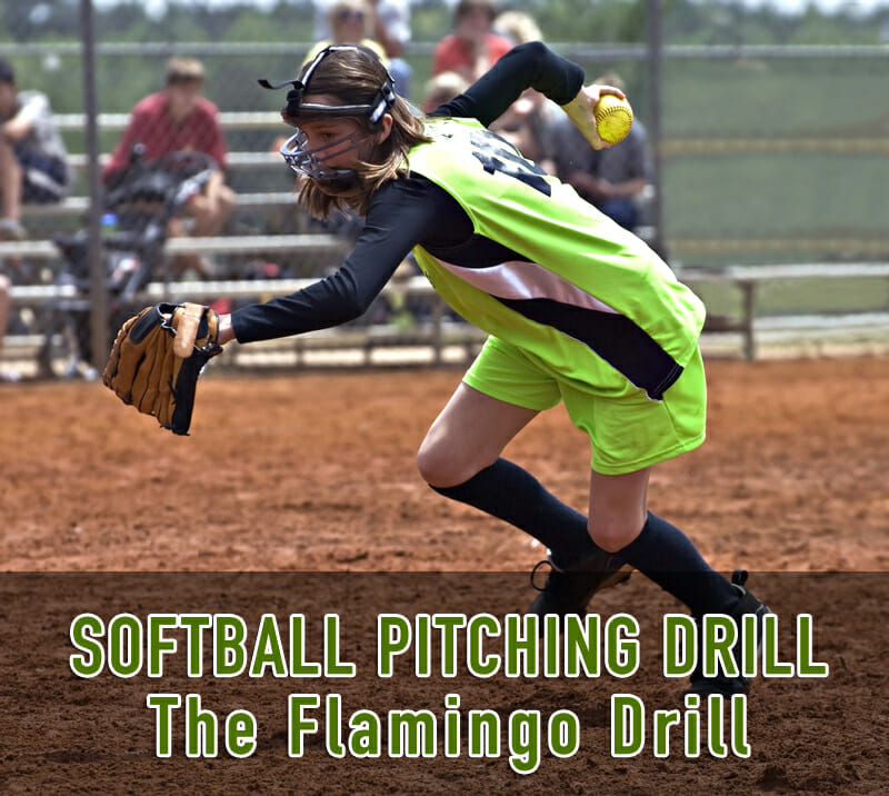 flamingo softball pitching drill