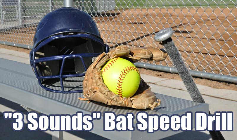 3 sounds bat speed drill