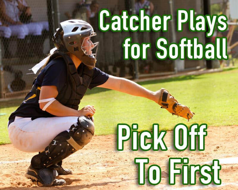 catcher plays