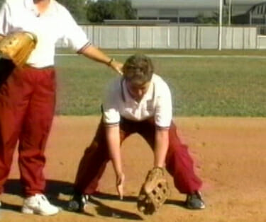 softball fielding 1