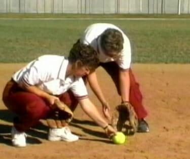softball fielding 2