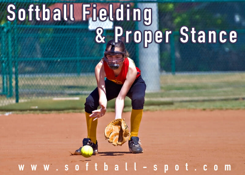 softball fielding