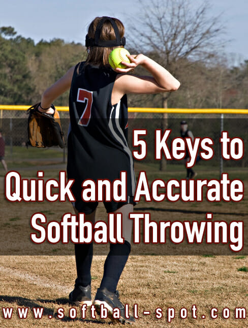 5 keys to softball throwing