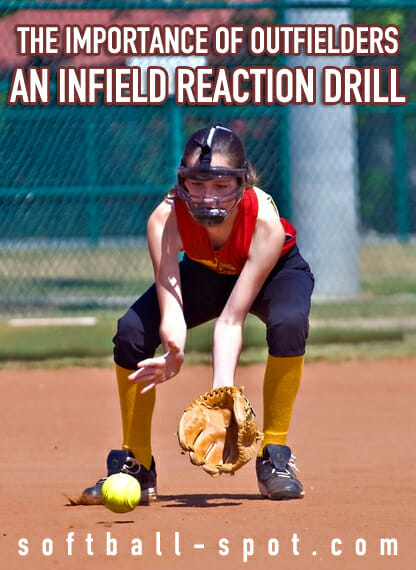infield reaction drill