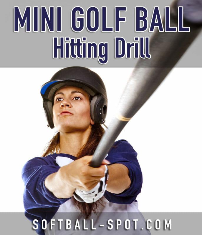 mini golf ball hitting drill 2