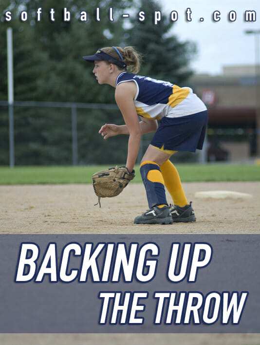 outfield conditioning back up throw