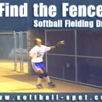 find the fence softball fielding drill