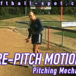 pre pitch motion pitching mechanics