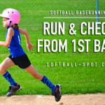 baserunning run and check 1st