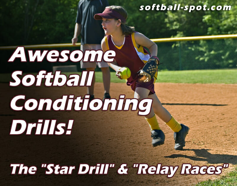 awesome softball conditioning drills
