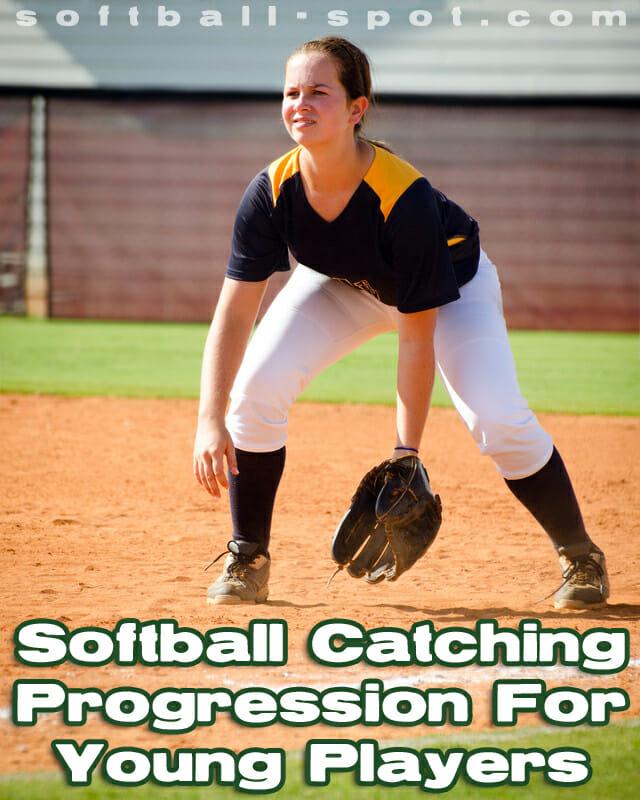 softball catching progression