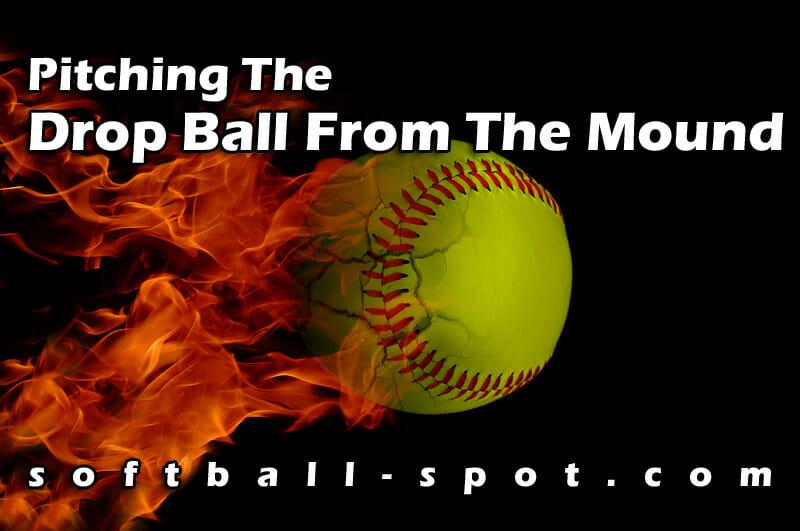 drop ball pitching drill