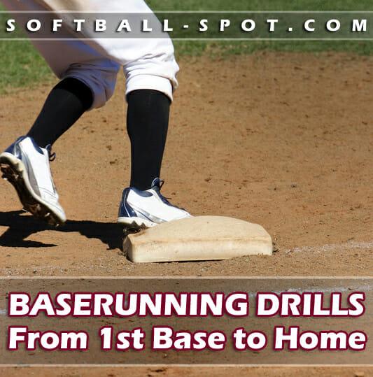 baserunning drills 1st base to home