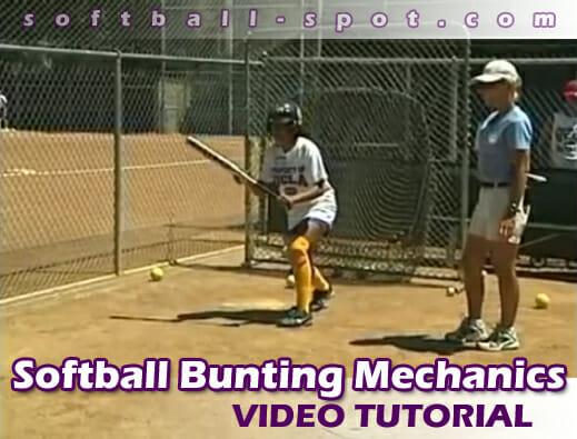 softball bunting drill
