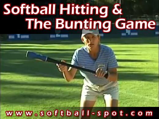 softball hitting bunting