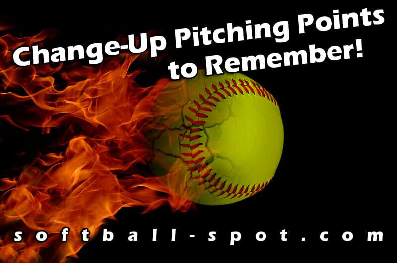 change up softball pitching points