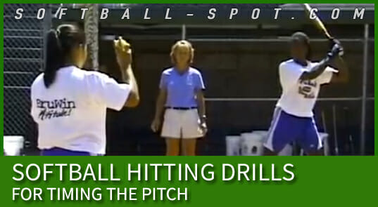 softball hitting drills for timing the pitch