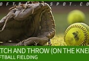 CATCH AND THROW FIELDING DRILL drill