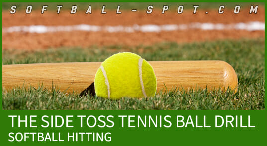 side toss tennis ball hitting drill
