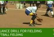 BALANCE DRILL SOFTBALL FIELDING